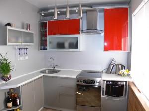 Выбор дизайна для маленькой кухни